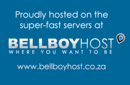 Proudly hosted on the super-fast servers at www.bellboyhost.co.za